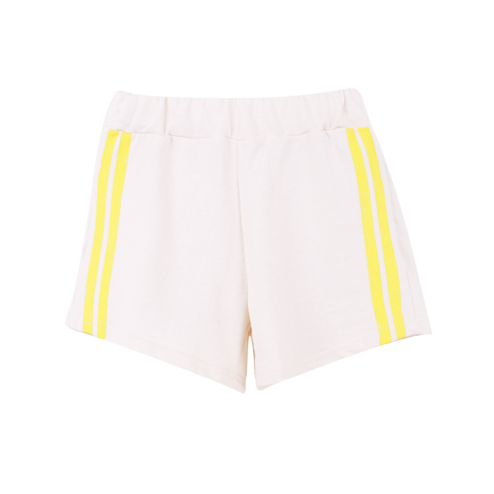 19 S/S Two Line Short Pants -  Ivory (3차입고, 당일발송)