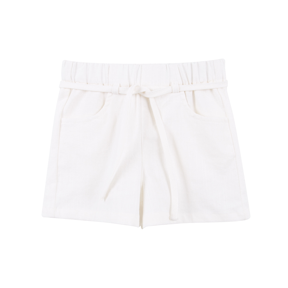 Linen string pants - Ivory (2차입고, 당일발송)
