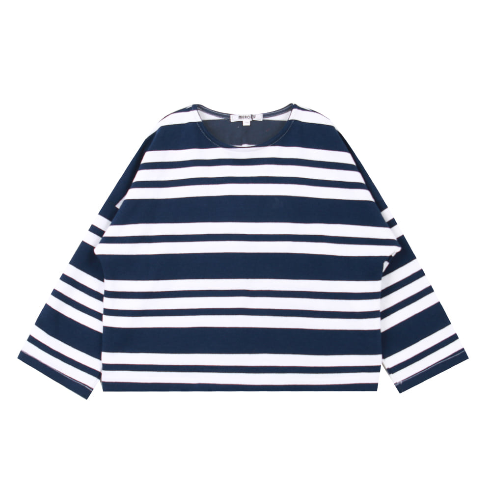 20 S/S Navy stripe T-shirt (2차입고, 당일발송)