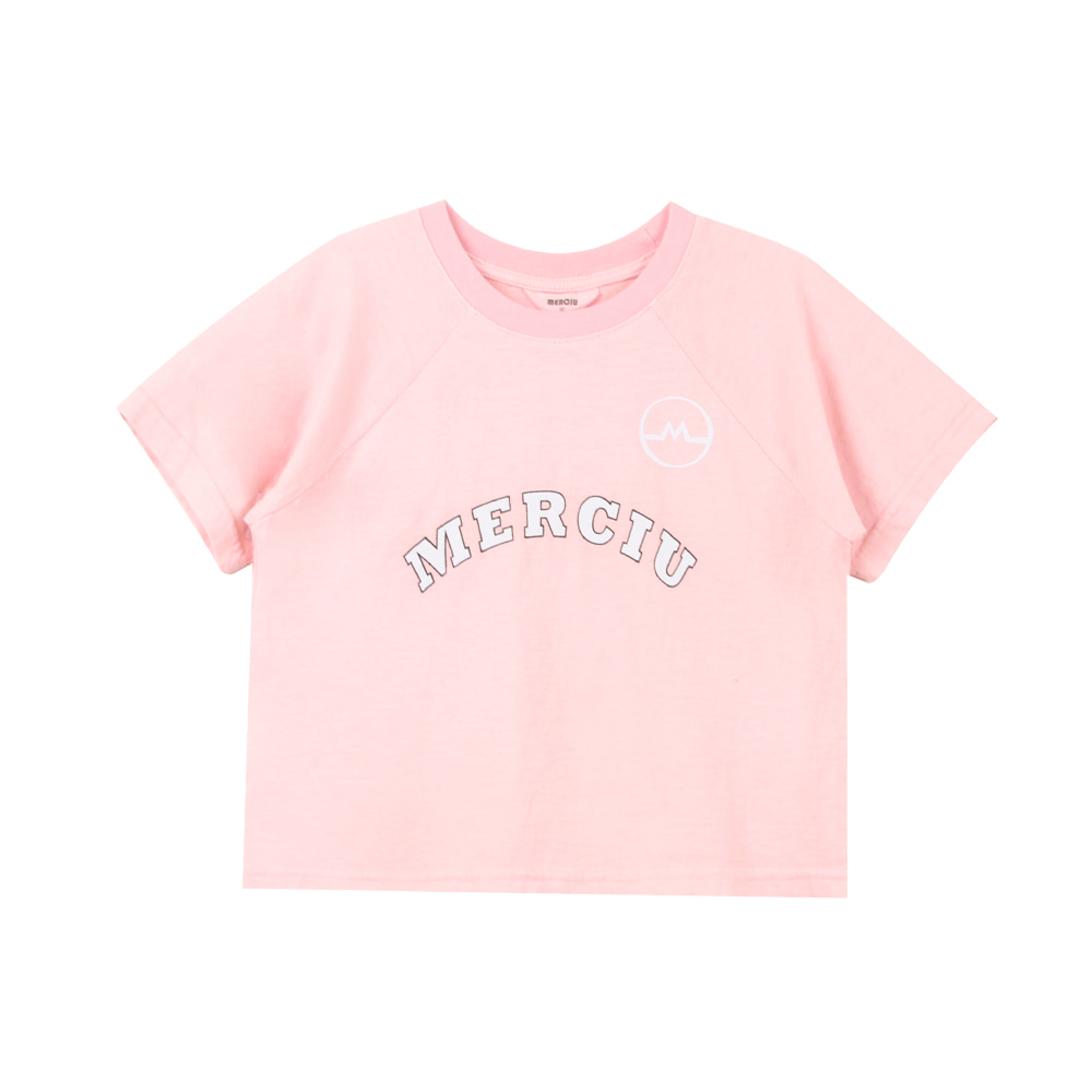 20 Summer Merciu T-shirt - pink (2차 입고, 당일발송)