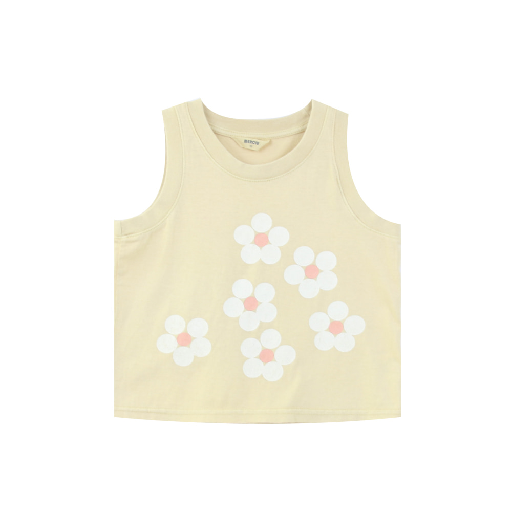 Flower sleeveless (프리오더)