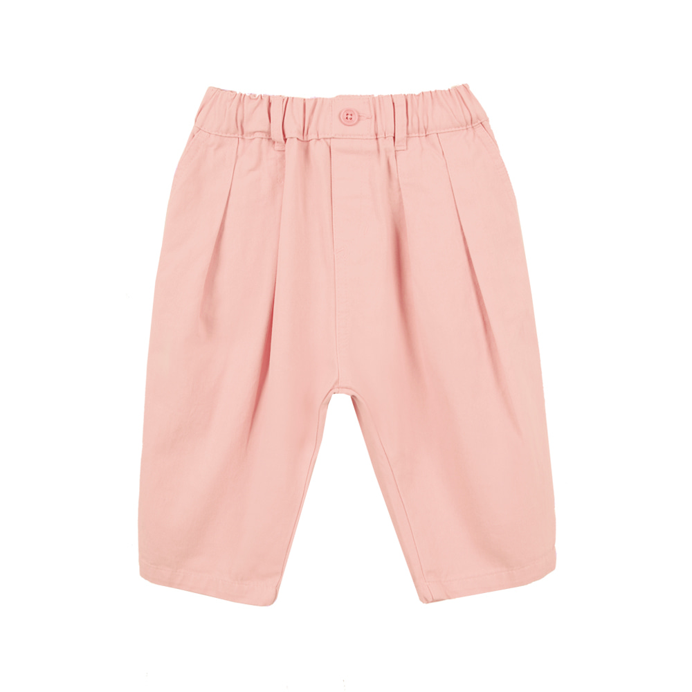 Cotton Baggy Pants - Pink(110-130가능, 당일발송)