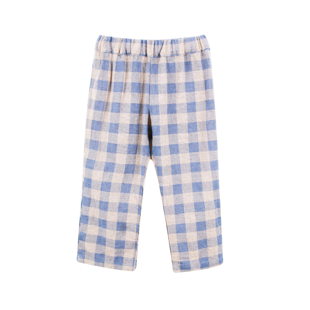 19 S/S Blue Check Pants (3차입고, 당일발송)