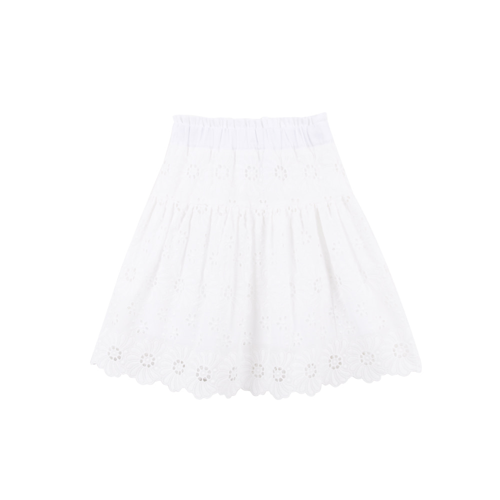 19 Summer lace skirt (2차입고, 당일발송)